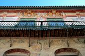 Penaflor palace balcony, Ecija, Andalusia, Spain.