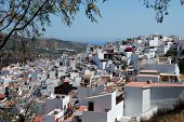 White village, Torrox, Andalusia, Spain.