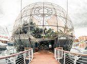 Biosfera. Genova, Itália