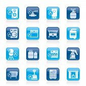 Household Gas Appliances icons