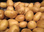 Potatoes Pattern Background