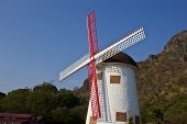 Swiss Sheep Farm Windmill1