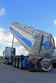 Mercedes-Benz Actros Silo Vehicle With Silo Up