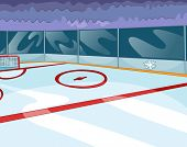 image of bleachers  - Hockey Rink - JPG