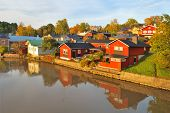 Porvoo In Autumn, Finland