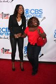 LOS ANGELES - OCT 8:  Aisha Tyler, Sheryl Underwood at the CBS Daytime After Dark Event at Comedy St