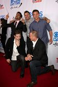 LOS ANGELES - OCT 8:  Ignacio Serricchio, Joshua Morrow, Steve Burton, Michael Muhney, Sean Carrigan