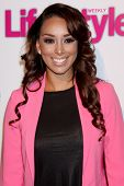 LOS ANGELES - OCT 9:  Gloria Govan at the Hollywood In Bright Pink at Bagatelle LA on October 9, 201