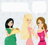 Two Women Gossip About Their Fat Friend