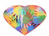 Hands In Heart