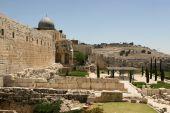 Ruins At Jerusalem, Israel