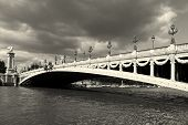 Alexander Iii Bridge, Paris, Ile De France, France