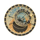 Prague Orloj Astronomical Clock Cutout