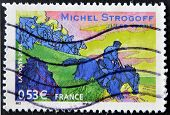 France - Circa 2005: A Stamp Shows An Image Of
