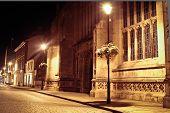Bury St Edmunds Night Scene