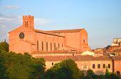 Basilica of San Domenico in Siena, Tuscany, Italy
