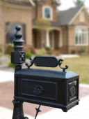 Luxury Model Home Ornate Mailbox