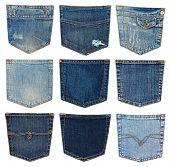 different jeans pocket