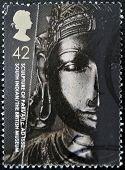 United Kingdom - Circa 2003: A Stamp Printed In Great Britain Shows Sculpture Of Parvati, Circa 2003