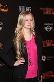 LOS ANGELES - OCT 10:  Sierra McCormick at the 8th Annual LA Haunted Hayride Premiere Night at Griffith Park on October 10, 2013 in Los Angeles, CA