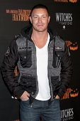 LOS ANGELES - OCT 10:  Lane Garrison at the 8th Annual LA Haunted Hayride Premiere Night at Griffith