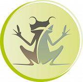Logo Frog Sitting