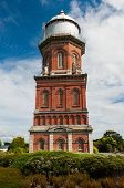 Historical Water Tower in Invercargill, the southernmost city of New Zealand and centre of Southland