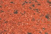 Red Wooden Chips
