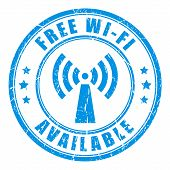 Free wifi stamp