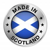 Made In Scotland Silver Badge
