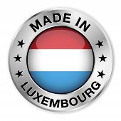 Made In Luxembourg Silver Badge