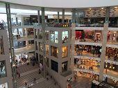 Pavilion Mall, KL, interior atrium