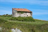 Old house.San Vicente de la Barquera Cantabria Spain
