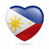 Heart icon of Philippines