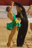 Bailarines: Alexandru Latino Dutcovici y Ana Marin