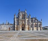 Batalha Monastery. Masterpiece of the Gothic and Manueline. Dominican Religious Order. Portugal. UNE