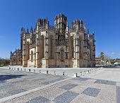 The Unfinished Chapels - Capelas Imperfeitas of the Batalha Monastery. Portugal. UNESCO World Heritage Site.