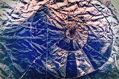 Broken Glass Retro Grunge Layer