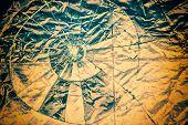 Broken Glass Retro Grunge Layer - Inverse