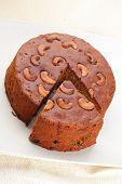 handmade pulm cake