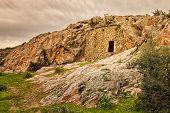 Troglodyte House Near Ostriconi In Corsica