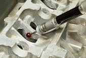 Inspecting Aluminium Part By Cmm