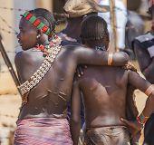 Hamar Women At Village Market.