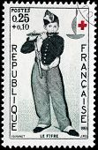 Young Flautist Stamp