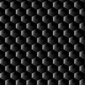 Black Graphite Mesh Seamless Pattern
