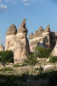 picture of goreme  - Rock formations in Goreme National Park - JPG