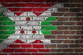 Dark Brick Wall - Burundi