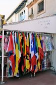 Shop At Saintes-maries-de-la-mer That Sells Flags