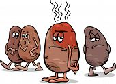 Hot Potato Saying Cartoon