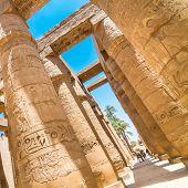 Temple of Karnak, Luxor, Egypt.